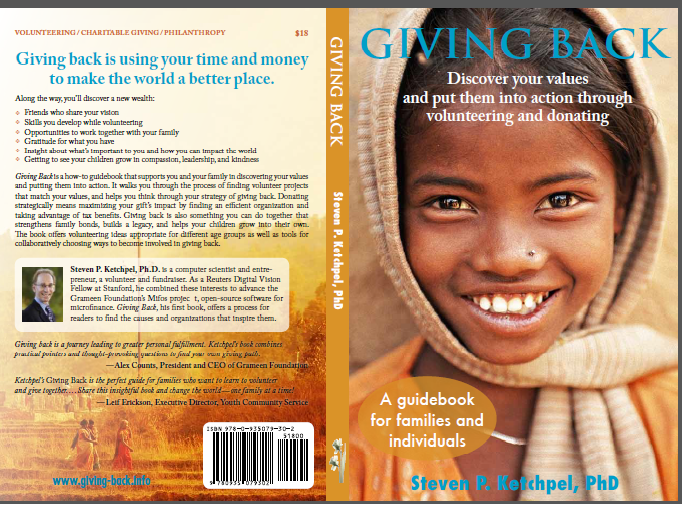 "Cover of ""Giving Back"""